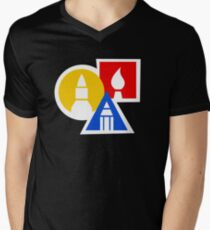 Art For Kids Hub Symbol Men's V-Neck T-Shirt