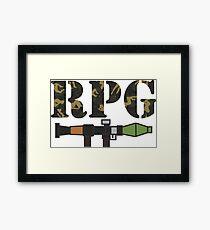 rpg Framed Print