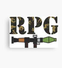 rpg Canvas Print