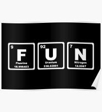 Fun - Periodic Table Poster