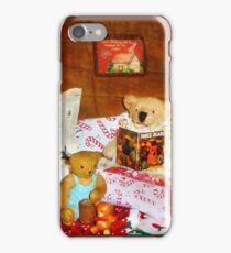 Technically my dear, teddy bears don't hibernate iPhone Case/Skin