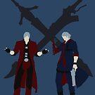Dante & Nero by stegopawrus