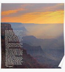 Tecumseh Poem Poster