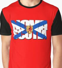 Nova Scotia Flag Graphic T-Shirt