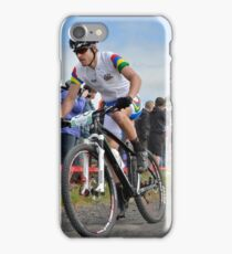 Cyclists at the Glasgow Commonwealth Games iPhone Case/Skin