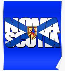Nova Scotia Flag Poster