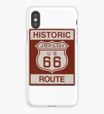 Joplin Route 66 iPhone Case/Skin