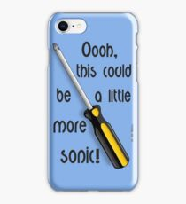 This Could Be A Little More Sonic iPhone Case/Skin