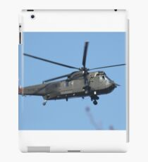 Royal Navy Helicopter. iPad Case/Skin