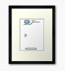 Pokedex, Pokémon Framed Print