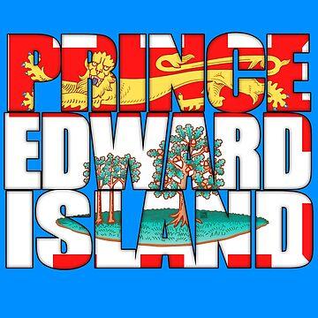Prince Edward Island PEI Flag by MikePrittie