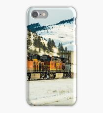 I hear that train a-comin' iPhone Case/Skin