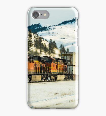 I hear that train a-comin' iPhone Case/Skin
