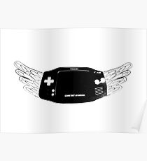 Winged Gameboy Advance Poster