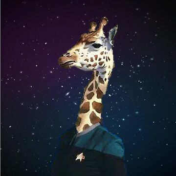 Enterprising Giraffe by spacegiraffes
