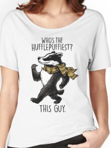 The Hufflepuffiest Women's Relaxed Fit T-Shirt