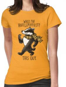 The Hufflepuffiest Womens Fitted T-Shirt