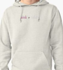 Sudadera con capucha rosa + blanco - Frank Ocean