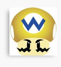 Wario Morph Mushroom Canvas Print