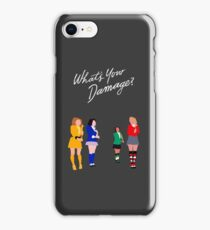 What's Your Damage, Heather? iPhone Case/Skin
