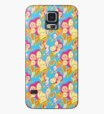 Electric Banana Monkey Pattern Case/Skin for Samsung Galaxy