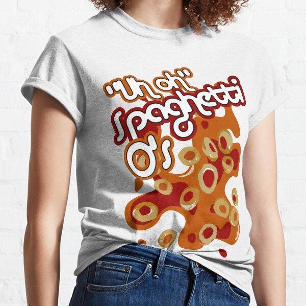 """""""Uh oh"""" Spaghetti O's Classic T-Shirt"""