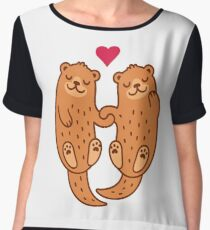 Otterly adorable Women's Chiffon Top
