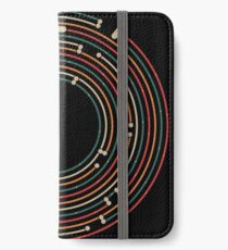 Vinyl music metro record map labyrinth  iPhone Wallet/Case/Skin