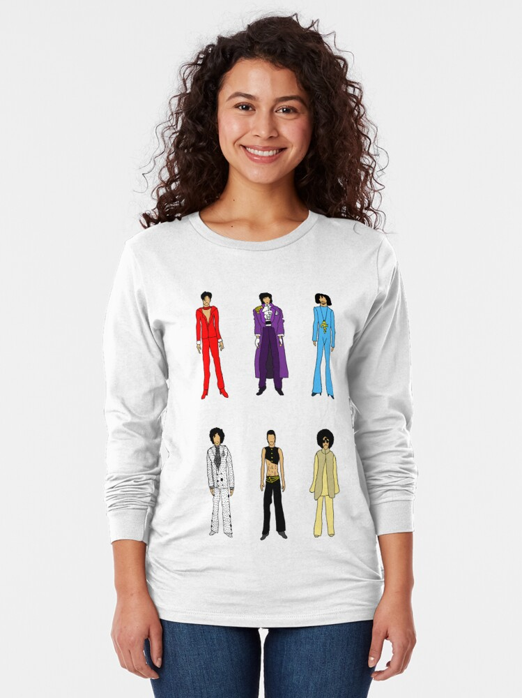 Alternate view of Prince and Princesses Long Sleeve T-Shirt