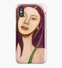 Realistic Portrait iPhone Case/Skin