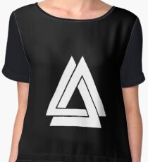 Bastille - Simple WWCOMMS Triangle Women's Chiffon Top