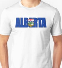 Alberta Canada Flag T-Shirt