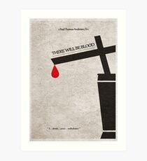 There Will Be Blood Art Print