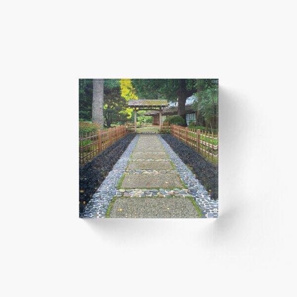 Torii Gate Acrylic Block