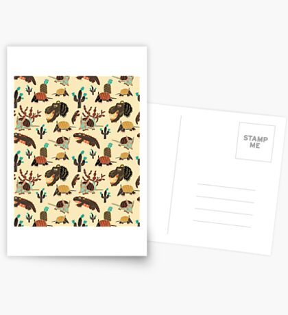 Desert Creatures Greeting Card