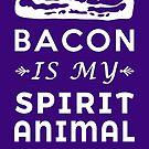 Porky Heavenly Paradise Bacon ist mein Geistertier von electrovista