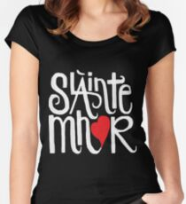 Slainte Mhor Women's Fitted Scoop T-Shirt