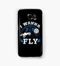 Rocket League I Wanna Fly Funny Gifts Samsung Galaxy Case/Skin