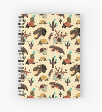 Desert Creatures Spiral Notebook