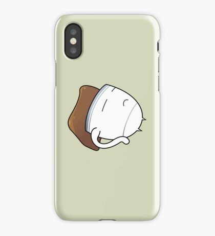 Tired Cuppa #digistickie iPhone Case