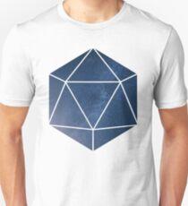 D20 - Blue Space T-Shirt
