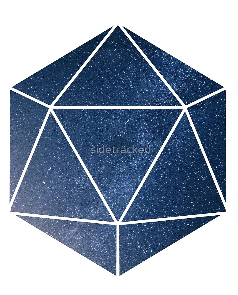 D20 - Blue Space by sidetracked