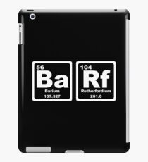 Barf - Periodic Table iPad Case/Skin