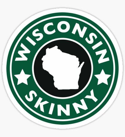 Wisconsin Skinny Caffeine Sticker