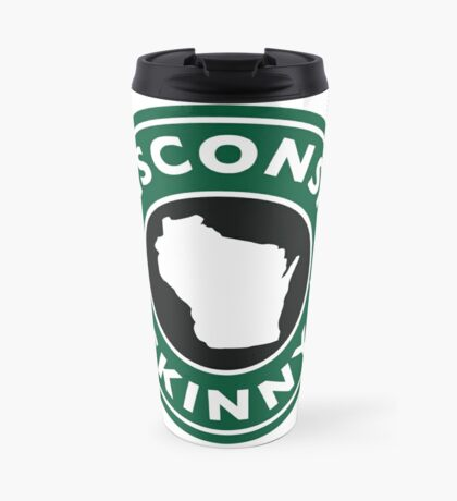 Wisconsin Skinny Caffeine Travel Mug