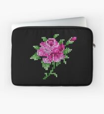 Cross stitch rose Laptop Sleeve