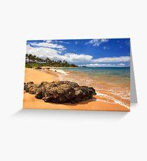 Mokapu Beach Maui Greeting Card