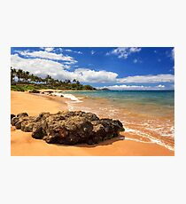 Mokapu Beach Maui Photographic Print