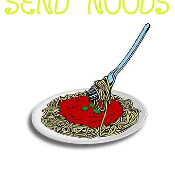 Send Saucy Noods by BurdleDurdle