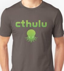 Cthulhu...err, Cthulu Waits Streaming Unisex T-Shirt